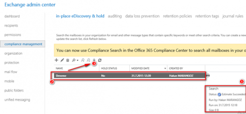 Office 365 Mailbox PST Download