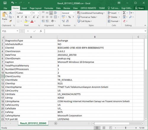 Microsoft Office 365 Client Performance Analyzer