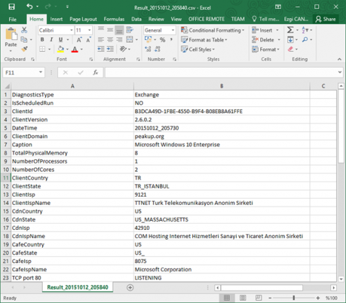 Microsoft Office 365 Client Performance Analyzer