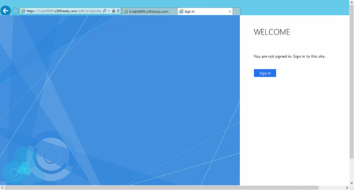 Office 365 için ADFS 3.0 ile Single Sign On – Part 5