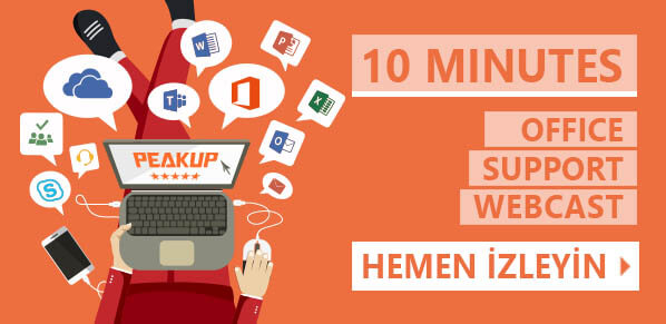 10 MINUTES – Office Support Webcasts