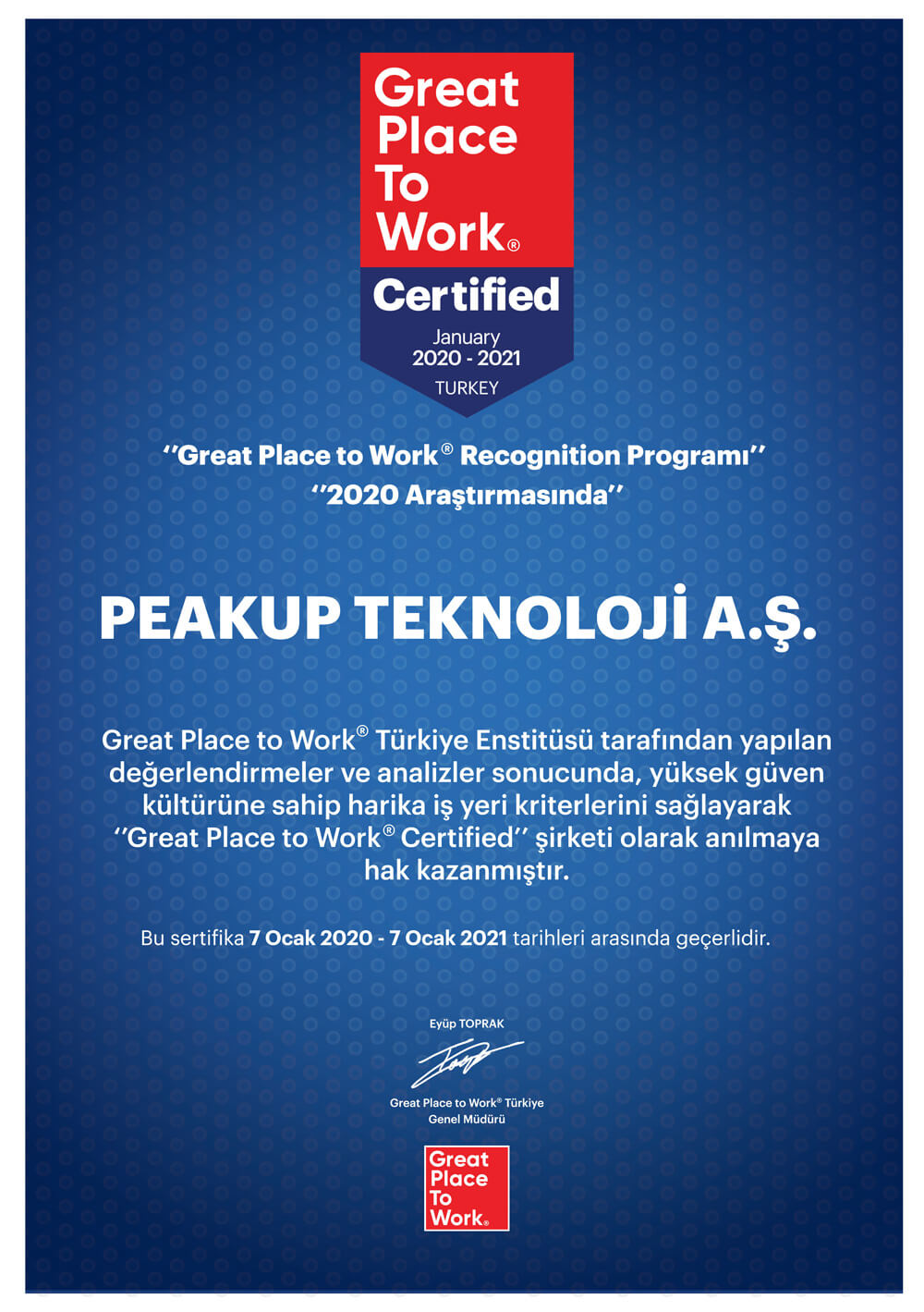 peakup-certification