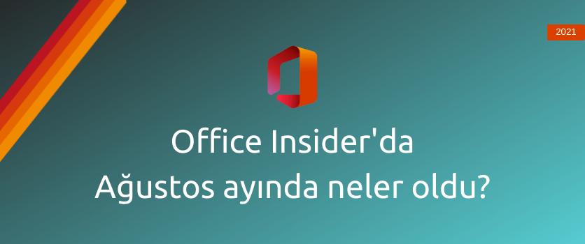 office insider ağustos